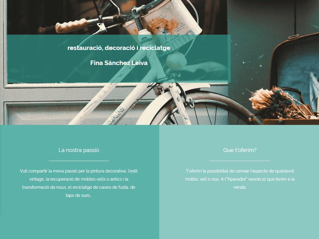 Nova web per Restauració Fisandeco
