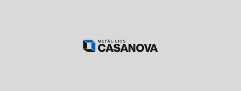 Creació d'una pàgina web per Metàl·lics Casanova