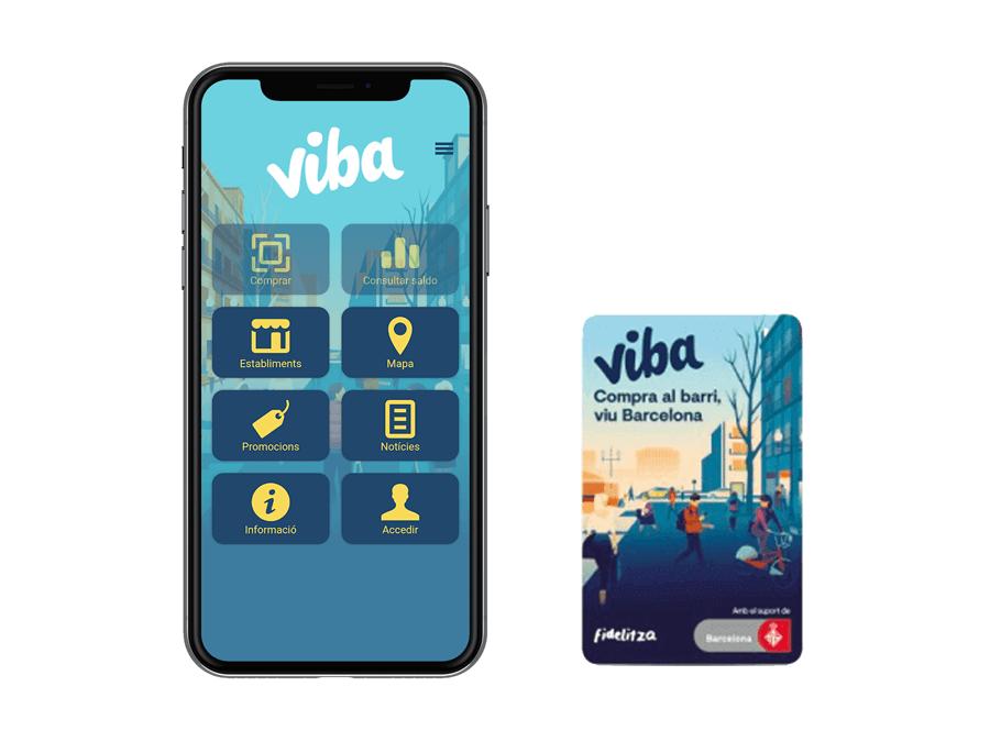 Viba Barcelona ja té App