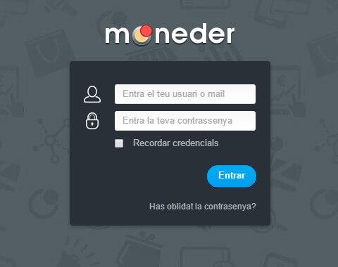 Aplicació web per la plataforma de fidelització Moneder