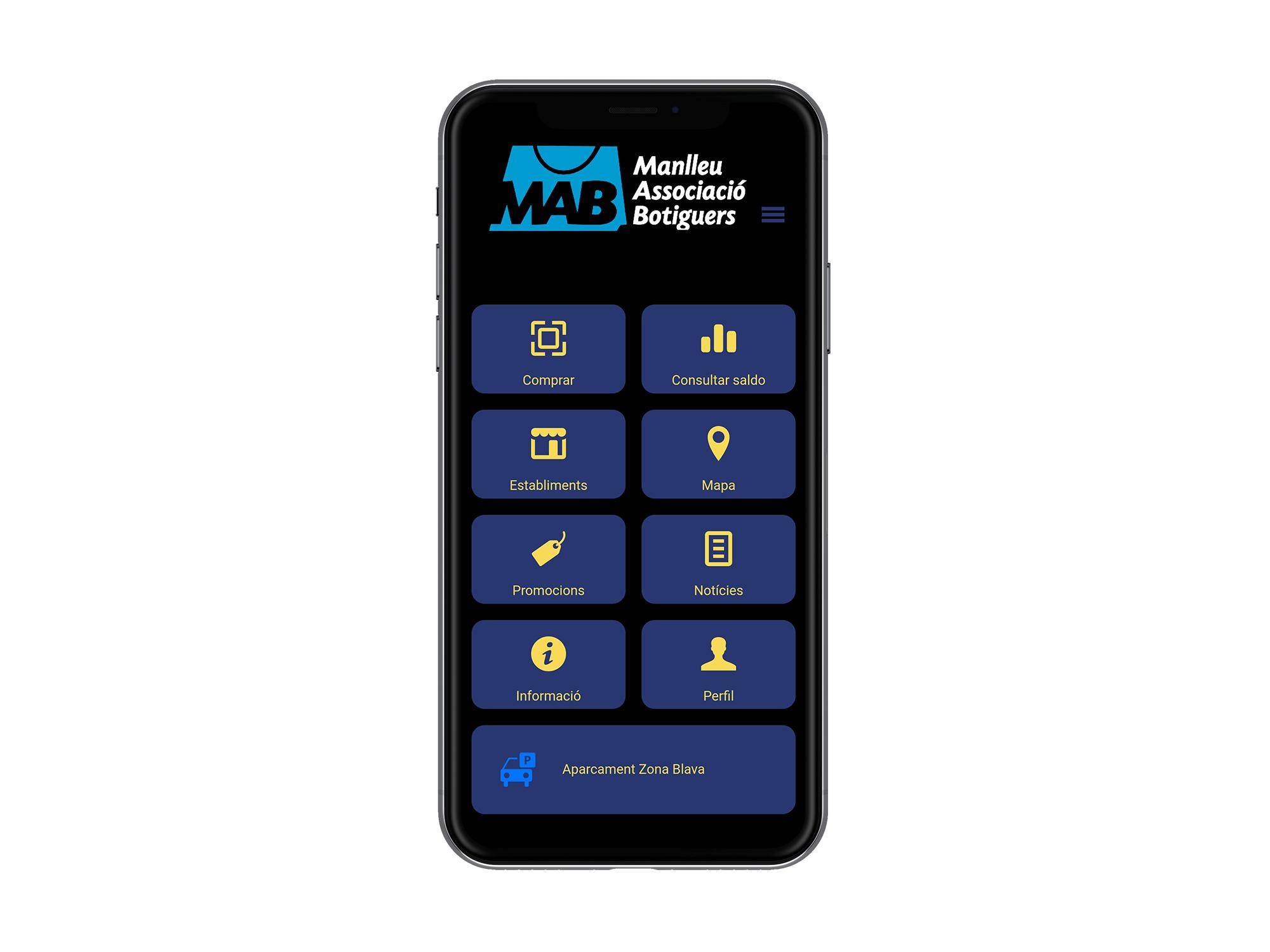 Creació d'una App de Zona blava a Manlleu