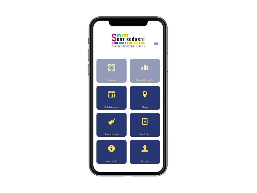 Creació d'una App per l'Associació Sant Sadurní
