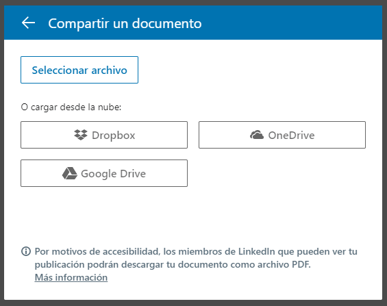 documents linkedin