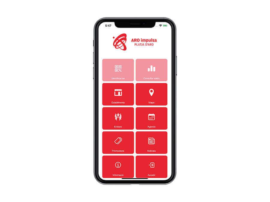 Creació d'una App per Aro impulsa